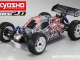 Kyosho DBX 2.0 1/10: Buggy nitro 4WD con radio 2.4GHz