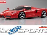 Kyosho MiniZ Sports Enzo Ferrari su telaio MR-03