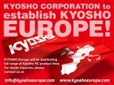 Finalmente nasce la Kyosho Europe!