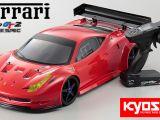 Kyosho Ferrari 458 su telaio Inferno GT2 Race Spec