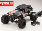 Kyosho FO-XX Readyset: Nitro e Brushless in scala 1/8