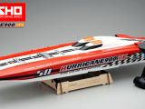 Kyosho Hurricane 900VE: Catamarano C-1 Racing brushless