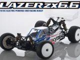 Kyosho ZX6.6 4WD: Buggy da competizione in scala 1/10