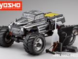 Kyosho Mad Force Kruiser KT-200 Nitro Monster Truck Video