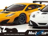 Kyosho MiniZ Sports su telaio MR-03: McLaren 12C GT3 2013, Porsche 962C e Aston Martin DB9R