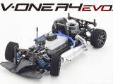 Kyosho V-ONE R4 EVO: Touring car da competizione 1/10