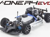 KYOSHO V-ONE R4 Evo: Touring car 1/10 a scoppio