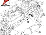 Kyosho VOne R4 - Manuale istruzioni e esploso delle parti