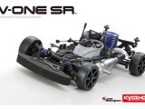 Kyosho V-ONE SR con Micromotore a scoppio GXR 15V 
