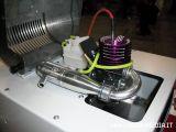 Banchi prova per micromotori a scoppio: LAURUS EC1 Colibrì  Fiera del modellismo di Verona
