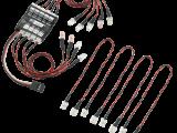 RCLogger: luci di navigazione e di atterraggio per riproduzioni di Elicotteri e Aerei RC