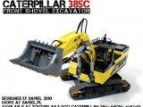LEGO - Caterpillar 385C Escavatore con pala frontale