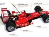 Ferrari 248 Formula 1 LEGO radiocomandata!