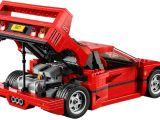 Lego Ferrari F40: video del montaggio e recensione