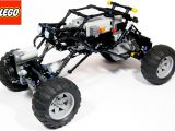 LEGO: Come costruire un Rock Crawler radiocomandato con i mattoncini Technic e Power Function