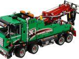Lego Technic 42008 Camion da lavoro: montaggio e test