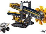 "LEGO Technic: modello alternativo del set 42055 - ""Mobile Aggregate Processing Plant"""