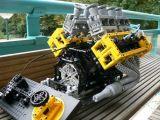Giocattoli e Modellismo: Costruire un Motore V8 con il Lego!