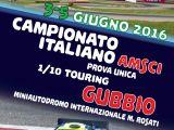 Prova unica Campionato Italiano 2016 AMSCI Touring 1/10