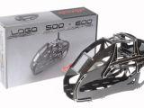 Mikado: Telaio in fibra di carbonio per il Logo 500 e 600