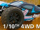 Losi TEN-MT Monster Truck 4WD in scala 1/10 con AVC