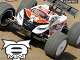Losi Mini 8IGHT-T: Truggy brushless in scala 1/14