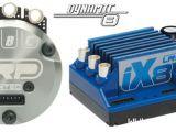 LRP: Motore brushless Dynamic 8 e ESC iX8 per modelli 1/8