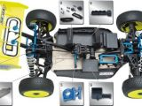 LRP S8-BXe Team Brushless buggy e kit di conversione