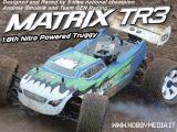 CEN Matrix TR3 4WD RTR: Truggy a scoppio 1:8 - Scorpio