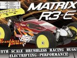 CEN Matrix R3e buggy 4WD brushless in scala 1:8 - Scorpio