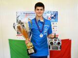 Mattia Zeni secondo al Campionato del Mondo F3P