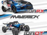 Maverick iON DT (Desert Truck) e iON RX (Rallycross) 1/18