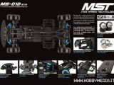 Max Speed Technology: telaio da drifting MS-01D RTR