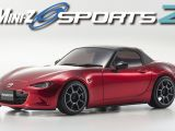 Mini-Z Sports 2 Mazda Roadster SoulRed Premium Metalic