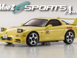 Mini-Z Sports AWD Mazda RX-7 FD3S su telaio MA-020