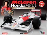 Costruisci la McLaren MP4/4 di Ayrton Senna - DeAgostini