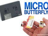 Plantraco Micro Butterfly - L'aeromodello radiocomandato più piccolo del mondo