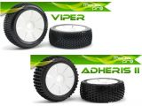 FlightTech - Gomme Medial Pro Viper, Blade e Adheris II per automodelli Offroad 1:8 Buggy