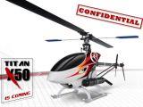Titan X50 Thunder Tiger - Video elimodellismo Acrobatico 3D