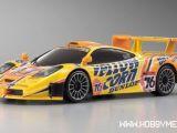 Kyosho MiniZ MR03 Mclaren F1 GTR gialla