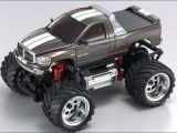 Kyosho Mini Z - Monster Dodge Ram 1500 Argento e Blu