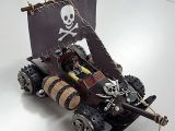 Tamiya Mini4wd Pirates of Hornet - JACK SPARROW