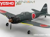 Kyosho: Aeromodello Minium Warbird A6M5 Zero ARF, RTF