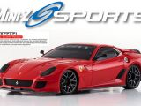 Ferrari 599XX Rossa Touring Car MINI-Z MR-03 Sports