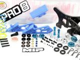 MIP Pro8: Kit di conversione per TLR SCTE 1/10 in buggy 1/8