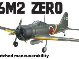 Zero Mitsubishi - Replica Flyzone A6M2 - RTF