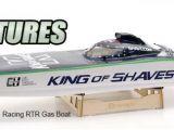 Motoscafo radiocomandato Venom King Of Shaves C1 Racing RTR - Navimodellismo Rc