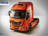Costruisci il camion IVECO Stralis in scala 1/12 - Raccolta a fascicoli della Hachette dedicata al modellismo