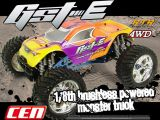 CEN GST-e monster truck brushless in scala 1/8 - SCORPIO
