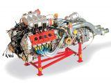 Motore Ferrari F40: Transkit per elaborazione della replica Pocher in scala 1:8 - Autograph